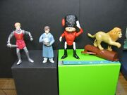 Four Mcdonalds Figures Various Years 2005-2019 Happy Meal Narnia, Lion King