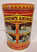 Vintage Kitchen 1979 Nabisco Biscuit Barnumand039s Animal Crackers Tin Can Empty
