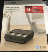 Belkin G Wireless Router Basic Home Connectivity New Sealed