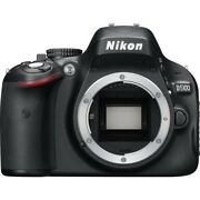 Nikon D5100 16.2mp Digital Slr Camera With Lenses, Battery, And Remote