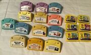 13 Leapfrog Baby Little Touch And 6 My First Leappad Cartridges, Lot Of 19