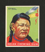 1933 Goudey Indian Gum 103 Steel From Original Collection