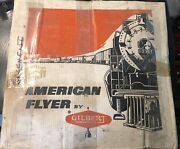 American Flyer By Gilbert 20605 Train Set Locomotive Caboose And Cars