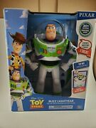 Toy Story Talking Buzz Lightyear Doll Thinkway Deluxe Space Ranger Figure 12