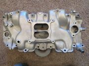 70 71 Corvette 454 Ls6 Intake Manifold 3963569-fits Holley Carb--prof Restored