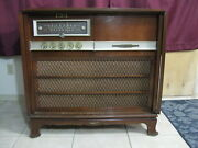 Rca Stereo Orthophonic Model Shc-2 Console 1959 Works - 14 Tube Dual Amplifier