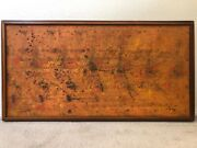 🔥 Antique Mid Century Modern Abstract Oil Painting Pollock - Signed