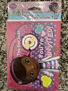 Disney Doc Mcstuffins Birthday Party Invitations And Thank You Cards Package Of 8