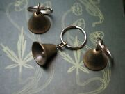 Hare Bell And Bird Key Rings Chain - Pagan Goddess Oestra Lot Of 9 Bells