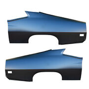 Rear Driver And Passenger Side Quarter Panel Oe Style Fastback Amd Fits Torino