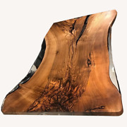 Customized Epoxy Dining Table Natural Ultra Clear Epoxy Decors Made To Order
