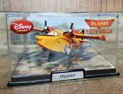 Disney Planes Fire And Rescue Dipper Exclusive Diecast Plane With Acrylic Case New