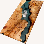 Beautiful Custom Epoxy Table Of Solid Poplar Wood Resin Decors Made To Order