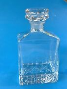Crystal Decanter Suntory Whiskey Crystal Decanter With Stopper - Japan
