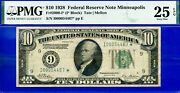 Fr-2000-i - 1928 10 Frn Higly Wanted - Minneapolis Star Pmg 25epq 467-