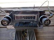 Rare Gm Truck Am/fm Stereo 8 Track Amp And Kick Panel Speakers 1973-80 Chevy Gmc
