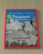 The United States Of America Presidential One Dollar Coins Book 2007-2016 Bn
