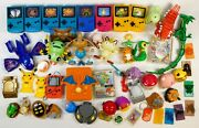 Vintage Pokemon Lot Of Mcdonald's And Burger King Toys 1990's