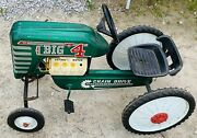1970's Amf Big 4 538 Chain Drive Toy Pedal Tractor
