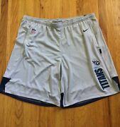 Nike On Field Nfl Tennessee Titans Shorts 3xl Xxxl Gray New With Tags
