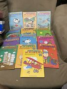 Charlie Brown Encyclopedia 13 Books 1990 Snoopy Peanuts Missing Books 3and7