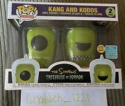 Kang And Kodos Funko Pop The Simpsons Treehouse Of Horror Sdcc Exclusive 2019