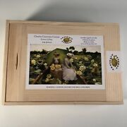 Artifact Wooden Jigsaw Puzzle Charles Courtney Curran Lotus Lilies Sold Out New