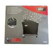 Weber 7455 Premium Charcoal Grill Cover Lightly Used