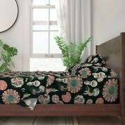 Jellyfish Botanical Ocean Jelly Fish 100 Cotton Sateen Sheet Set By Roostery