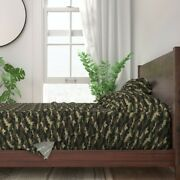 Camouflage Military Army Soldier 100 Cotton Sateen Sheet Set By Roostery