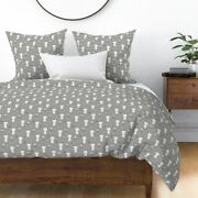 Rabbits Rabbit Pets Bunny Bunnies Easter Spring Sateen Duvet Cover By Roostery
