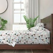 Cats Cat Pet Cat Lover Cat Lady Animals 100 Cotton Sateen Sheet Set By Roostery