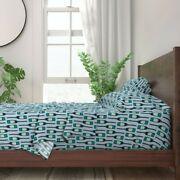 Rustic Lake House Decor Canoe Paddle 100 Cotton Sateen Sheet Set By Roostery