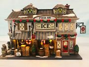 Vintage Dept. 56 Christmas In The City Series 2004 Pier 56,east Harbor 56.59237