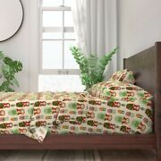Skelly Chic Russian Nesting Dolls 100 Cotton Sateen Sheet Set By Roostery