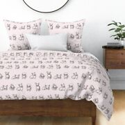 Friendly French Bulldogs Bulldog Pug Puppies Sateen Duvet Cover By Roostery