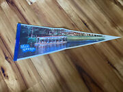 """Oldest 1878 Attraction Florida """"silver Springs"""",extremely Rare 1980 Wall Pennant"""