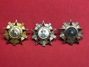 Albania Medal-order Of Freedom-1945- 1 , 2 , 3 Class Military Medals Full Set