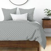 Xoxo Love Hugs And Kisses Valentines Day Neutral Sateen Duvet Cover By Roostery