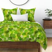 Viticulture Vine Grape Upstate New York Ny Finger Sateen Duvet Cover By Roostery