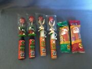 Lot1 4 Spin Pops Bugs Bunny And Marvin The Martian 2 Pez Santa's