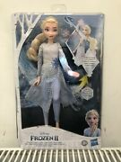 Bnib - Disney Frozen 2 Magical Elsa Discovery Doll With Lights And Sounds - New