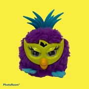2012 Hasbro - Electronic Furby Party Rockers - Fussby Purple Green Blue Works