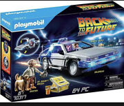 Playmobil Back To The Future Delorean 70317 For Kids 6 Yrs Old And Up
