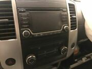 Audio Equipment Radio Receiver Am-fm-stereo-cd Fits 15-16 Frontier 1145124
