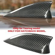 Real Carbon Fiber Roof Shark Fin Antenna Cover For 14-15 Mazda 3 Hatch Touring