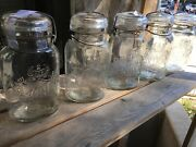 King Canning Boston 3 Glass Jars Plus United Drug Co Boston And Others Ball