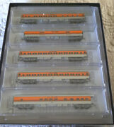 N-scale Micro-trains 993 01 730 Denver And Rio Grande Western Hwt 5 Pack New Mint