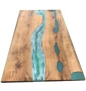 Epoxy Resin Office Home Conference Furniture Handmade Table Deco Made To Order