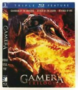 Gamera Trilogy Slipcover Only Fits Blu-ray No Disc